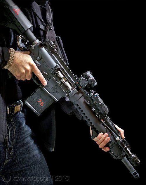 LaRue Assault Rifle High Quality Background on Wallpapers Vista