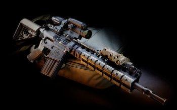 350x219 > LaRue Assault Rifle Wallpapers