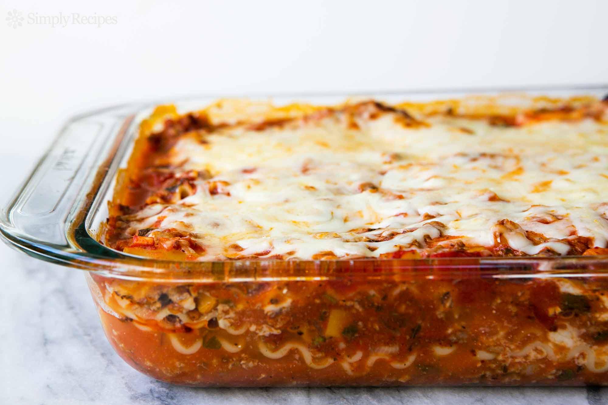 Lasagna #4