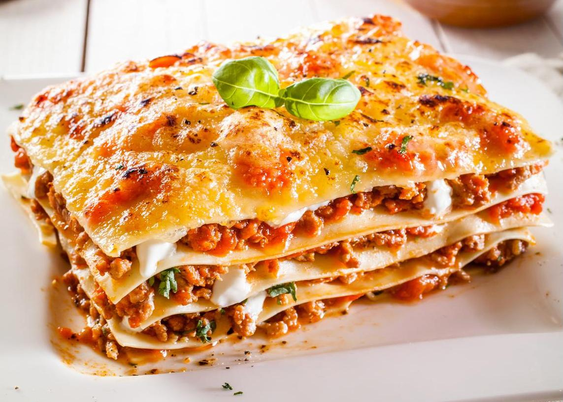 HD Quality Wallpaper | Collection: Food, 1143x817 Lasagne