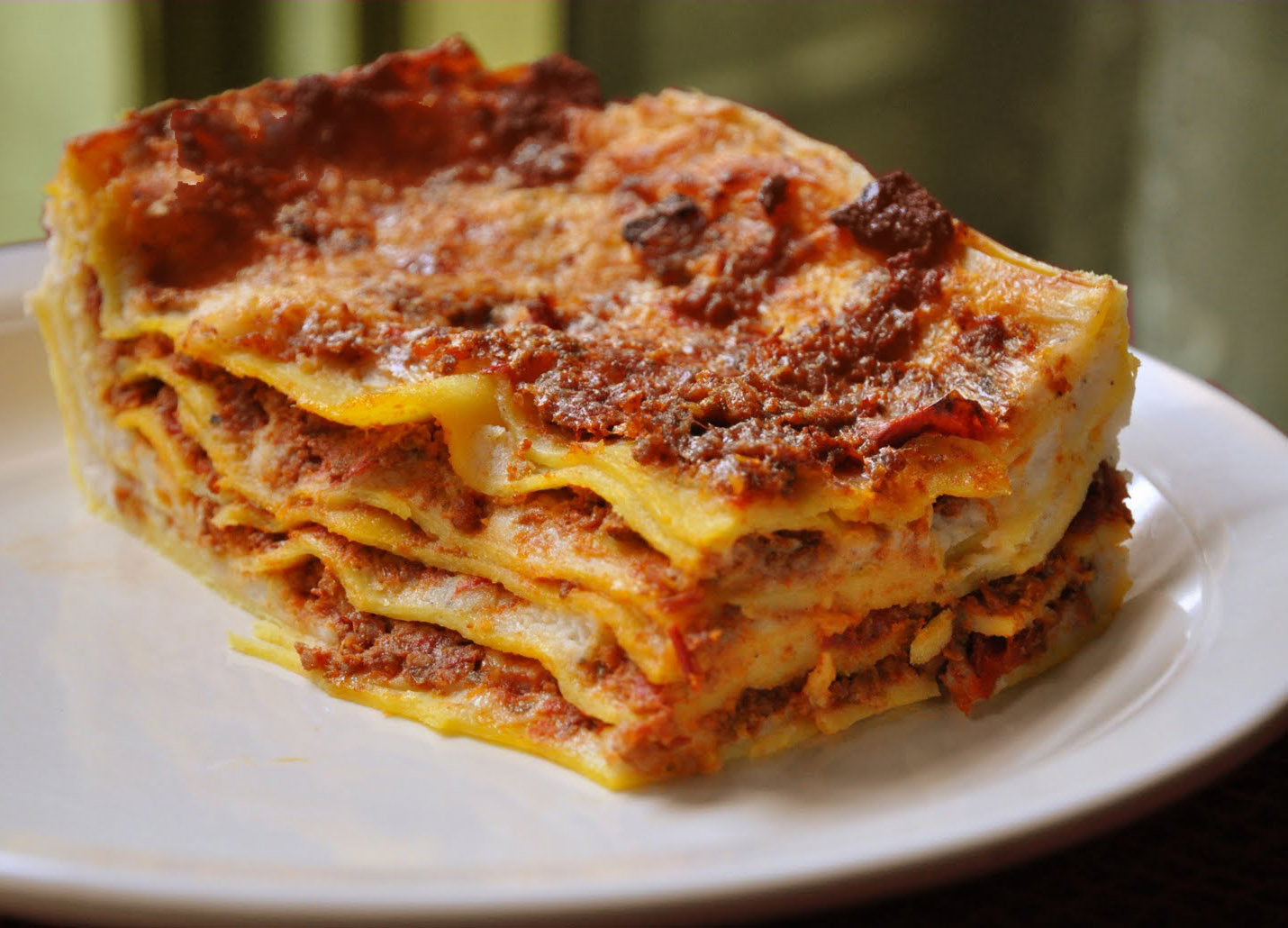 HD Quality Wallpaper | Collection: Food, 1430x1030 Lasagne
