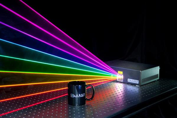 Laser Backgrounds on Wallpapers Vista