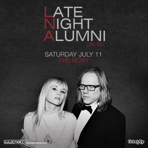 Late Night Alumni Pics, Music Collection