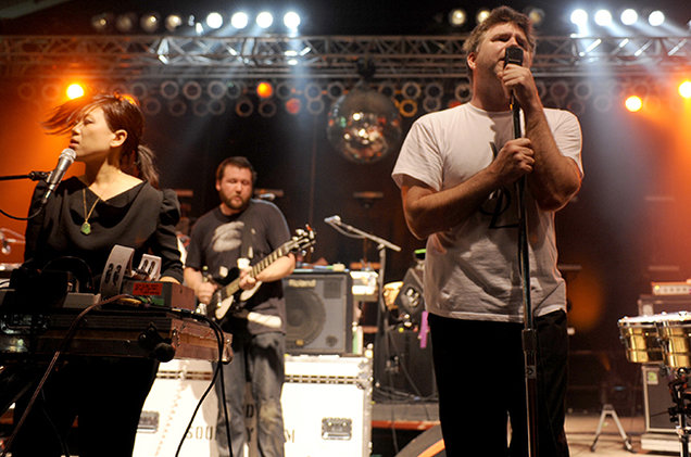 HD Quality Wallpaper | Collection: Music, 636x421 LCD Soundsystem