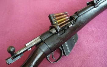 Nice wallpapers Lee Enfield Mk Iii Rifle 350x219px