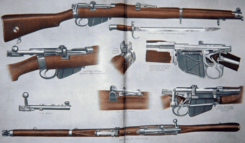 Images of Lee Enfield Mk Iii Rifle | 850x496