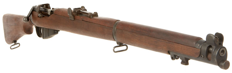 HD Quality Wallpaper | Collection: Weapons, 740x233 Lee Enfield Mk Iii Rifle