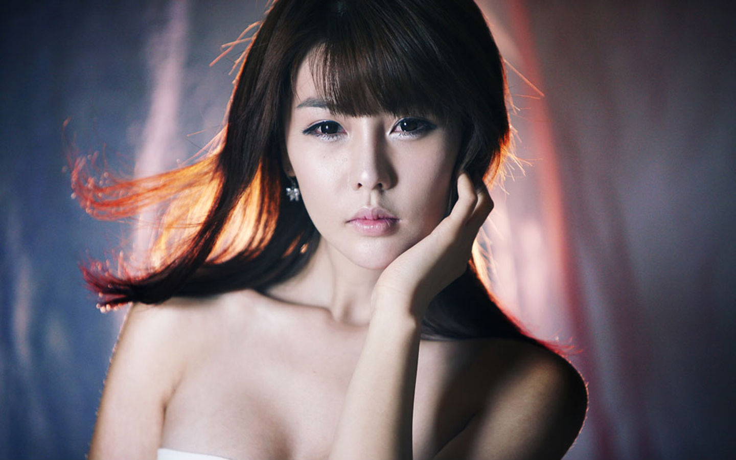 Nice wallpapers Lee Ji Woo 1440x900px