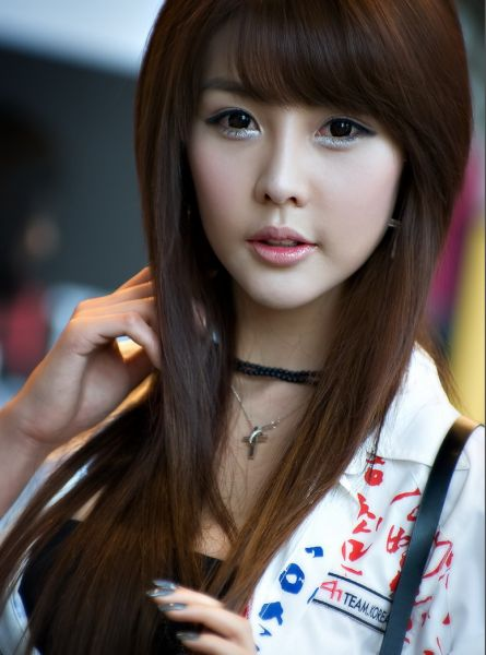 Nice wallpapers Lee Ji Woo 445x600px