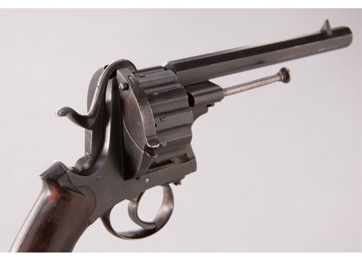 HD Quality Wallpaper | Collection: Weapons, 1200x866 Lefaucheux Revolver