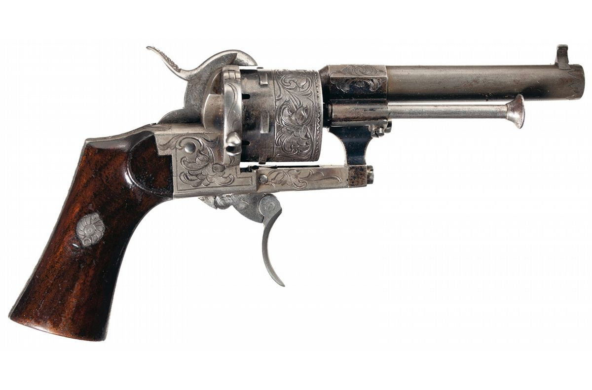 Images of Lefaucheux Revolver | 1200x791