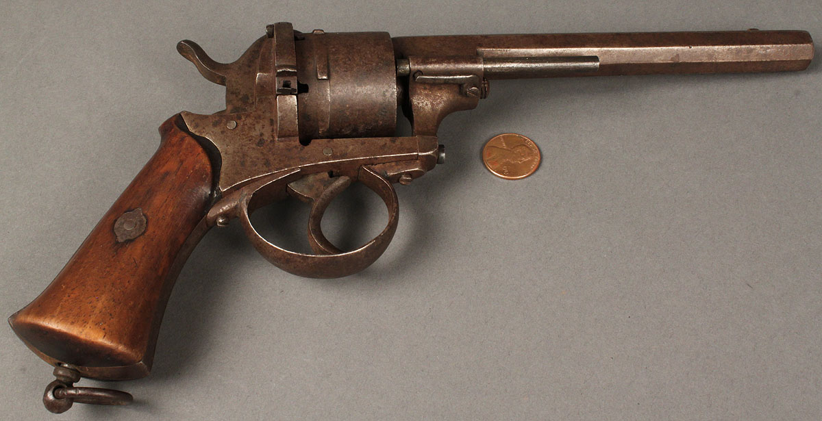 HD Quality Wallpaper | Collection: Weapons, 1200x615 Lefaucheux Revolver