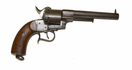 HD Quality Wallpaper | Collection: Weapons, 440x233 Lefaucheux Revolver