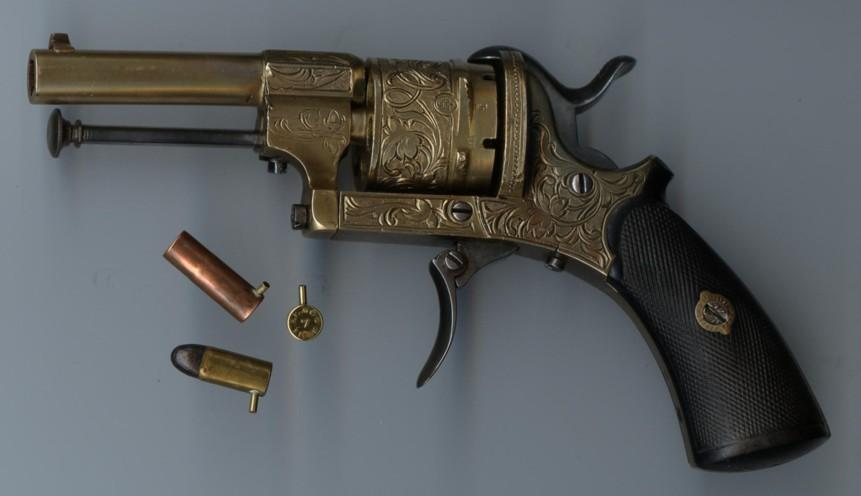 Lefaucheux Revolver High Quality Background on Wallpapers Vista