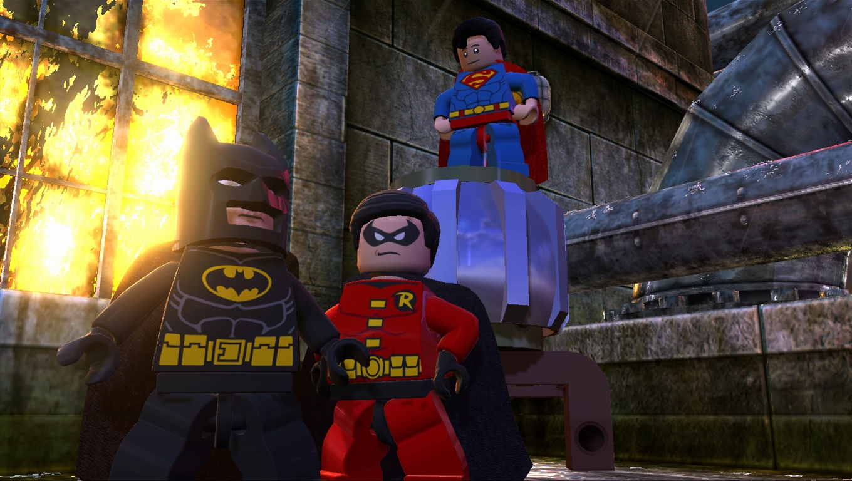 Nice wallpapers LEGO Batman 2: DC Super Heroes 1360x768px