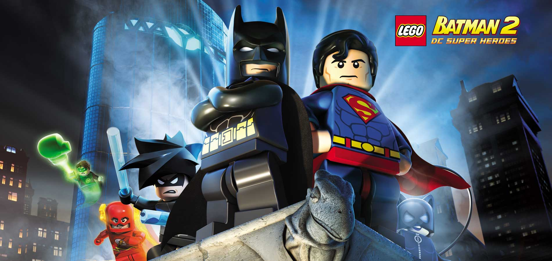 HD Quality Wallpaper | Collection: Video Game, 1900x900 LEGO Batman 2: DC Super Heroes