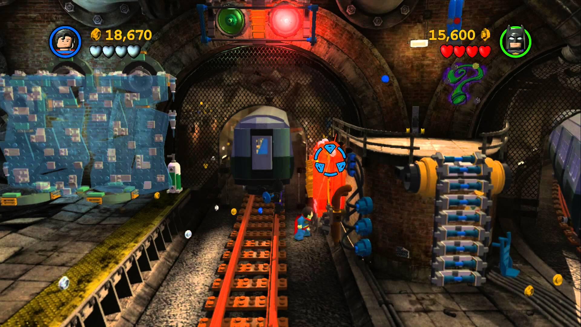 Nice Images Collection: LEGO Batman 2: DC Super Heroes Desktop Wallpapers