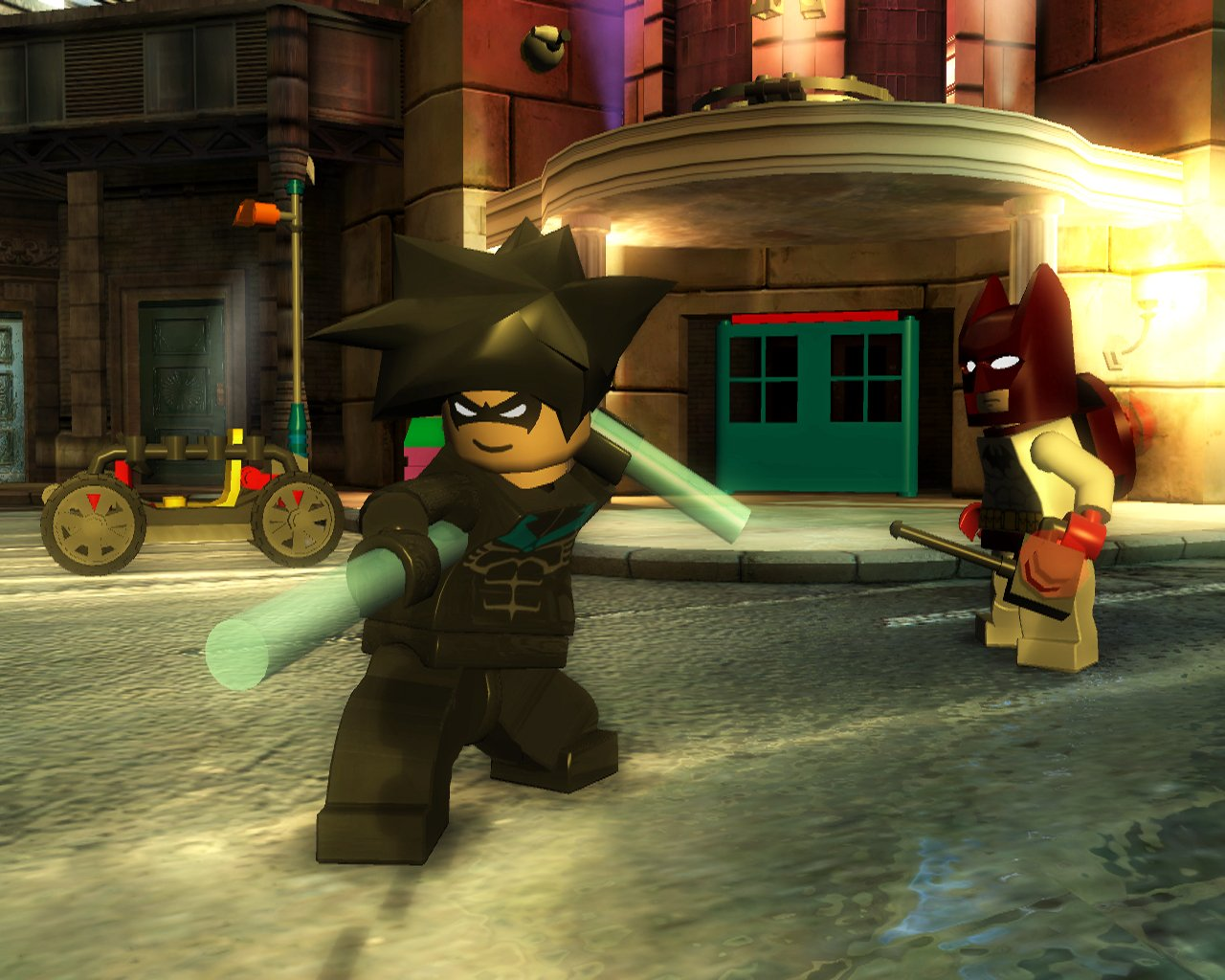 HD Quality Wallpaper | Collection: Video Game, 1280x1024 LEGO Batman: The Videogame
