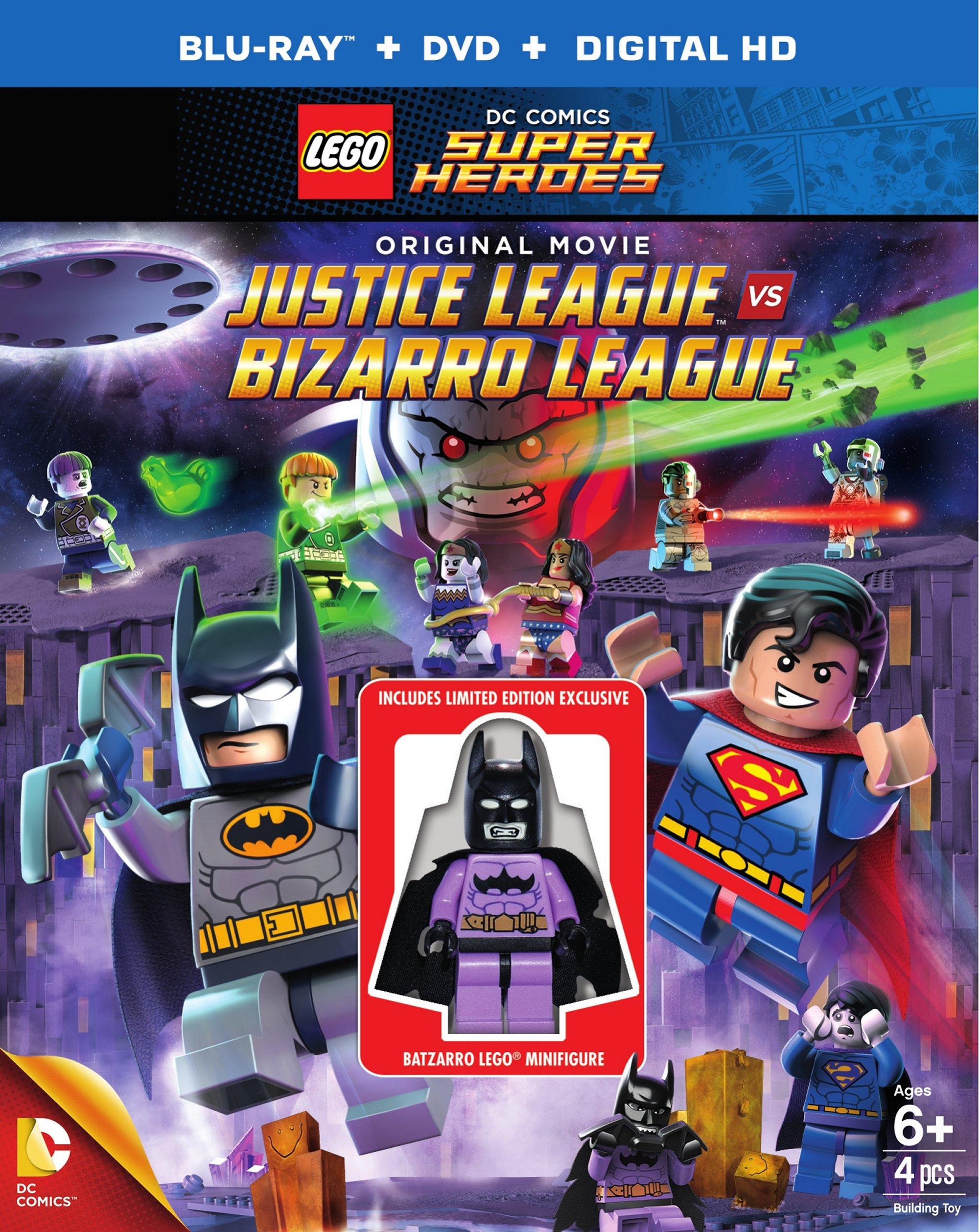 Lego DC Comics Super Heroes: Justice League Vs  Bizarro Leag