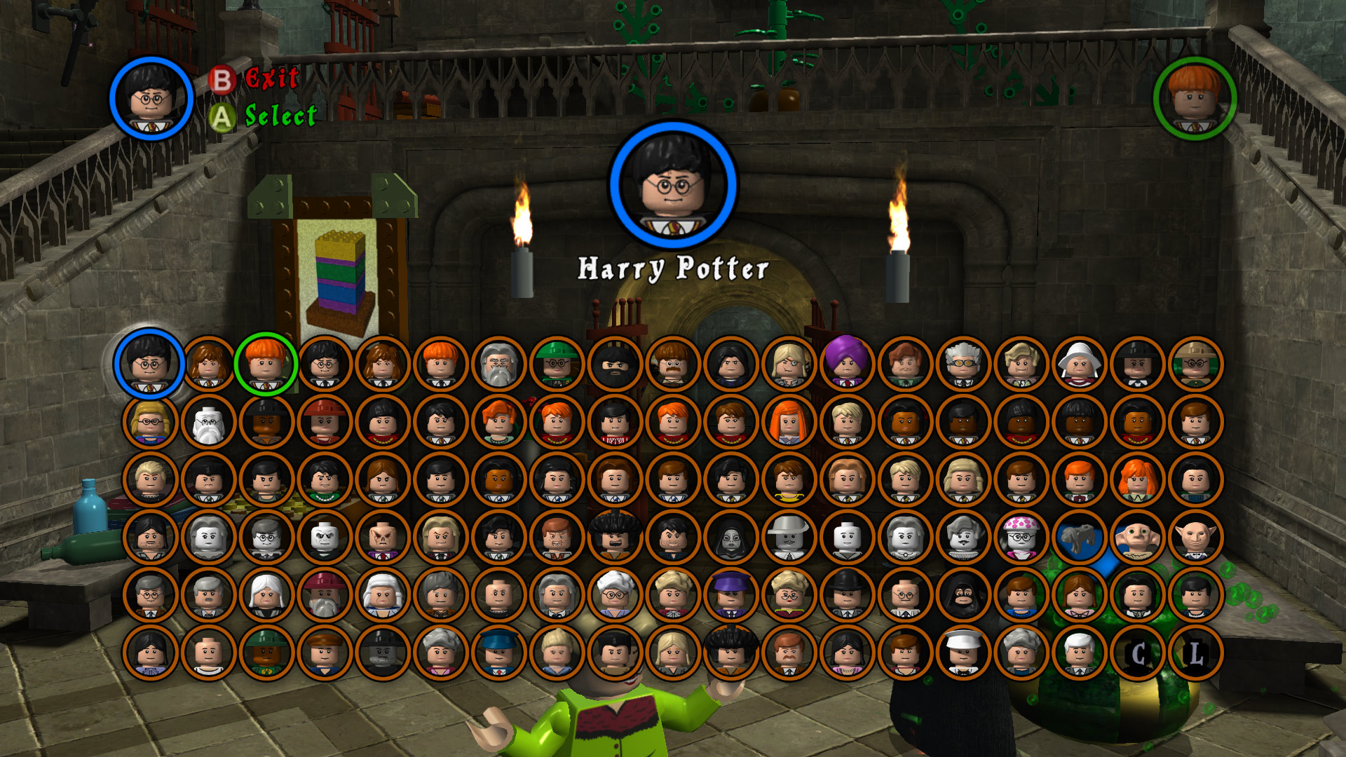 LEGO Harry Potter: Years 1-4 Backgrounds, Compatible - PC, Mobile, Gadgets| 1920x1080 px
