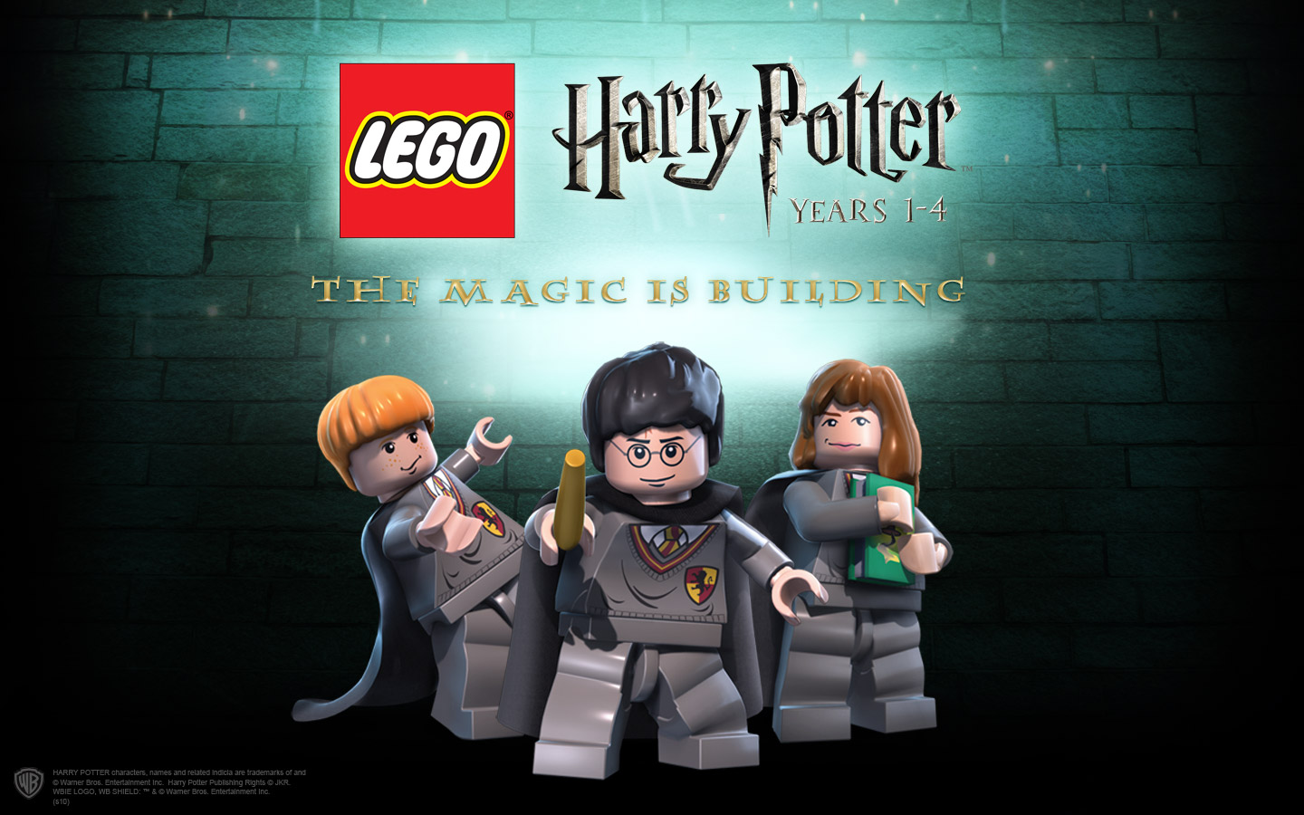 HD Quality Wallpaper | Collection: Video Game, 1440x900 LEGO Harry Potter: Years 1-4