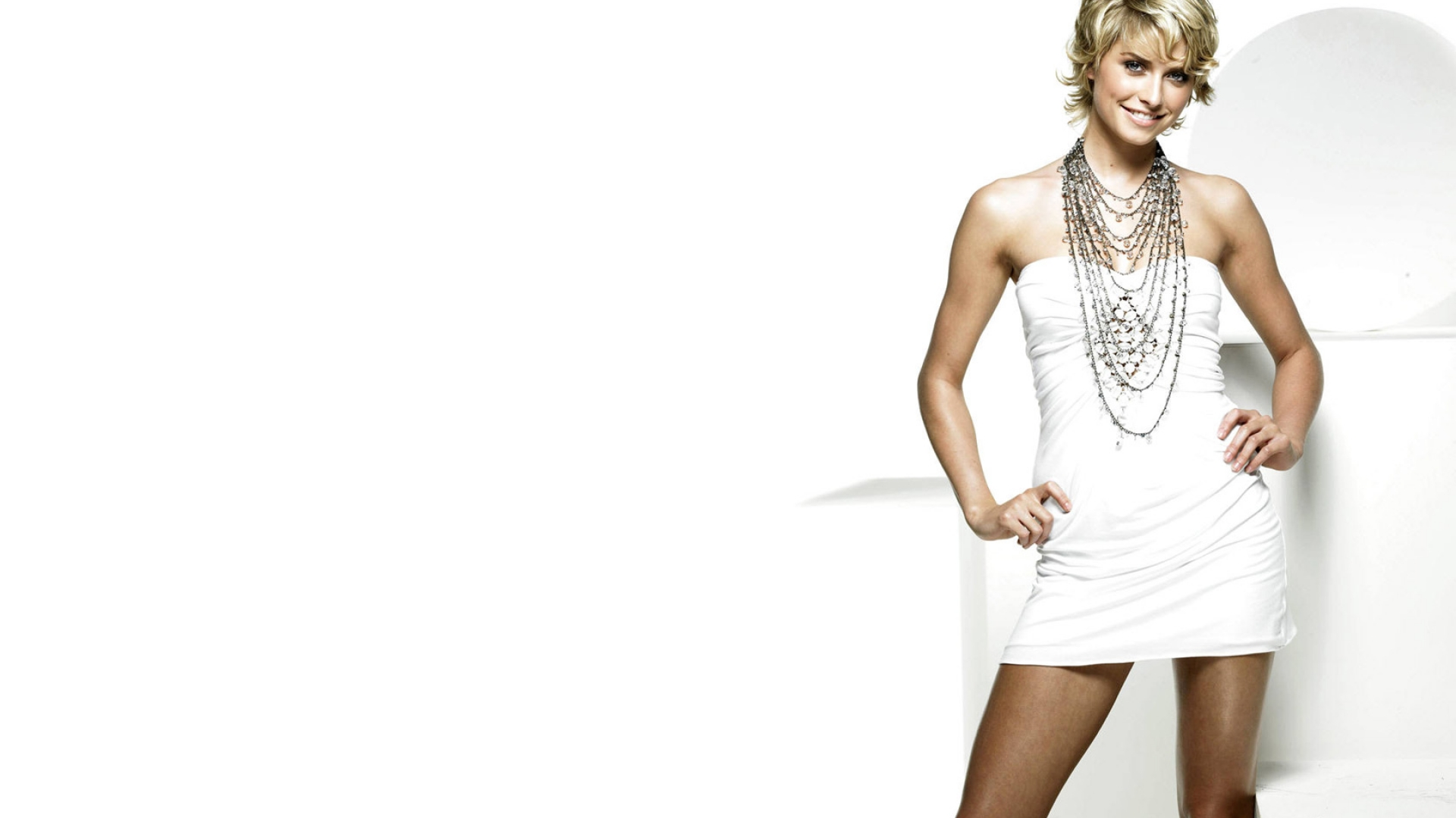 High Resolution Wallpaper | Lena Gercke 1920x1080 px