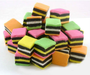 Nice wallpapers Licorice Alsorts 300x250px