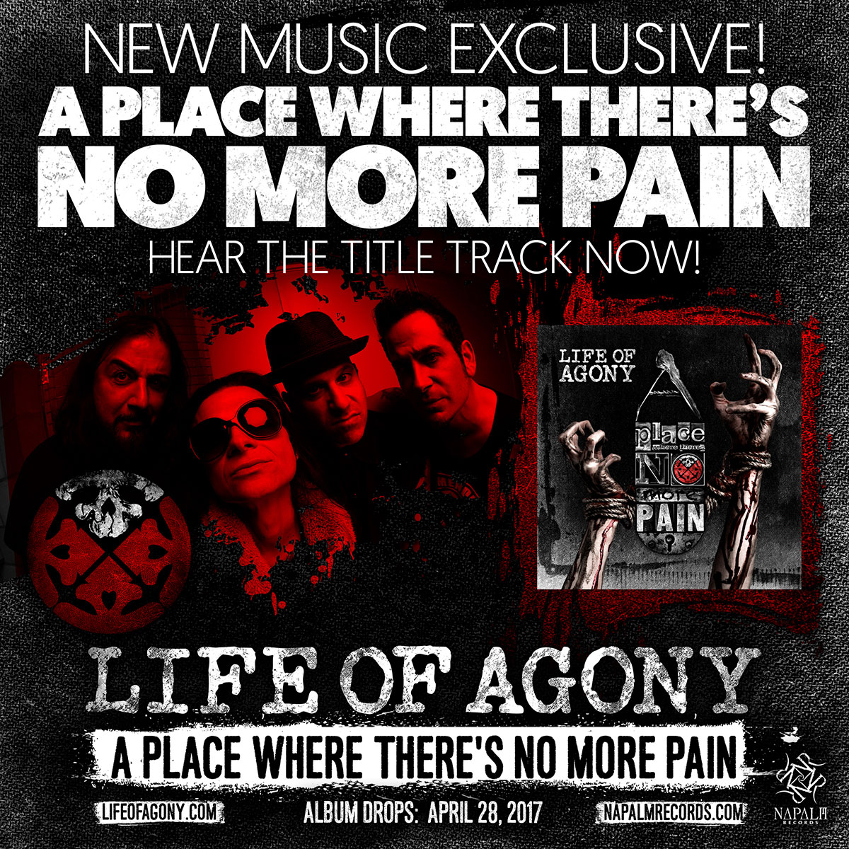 High Resolution Wallpaper   Life Of Agony 1200x1200 px
