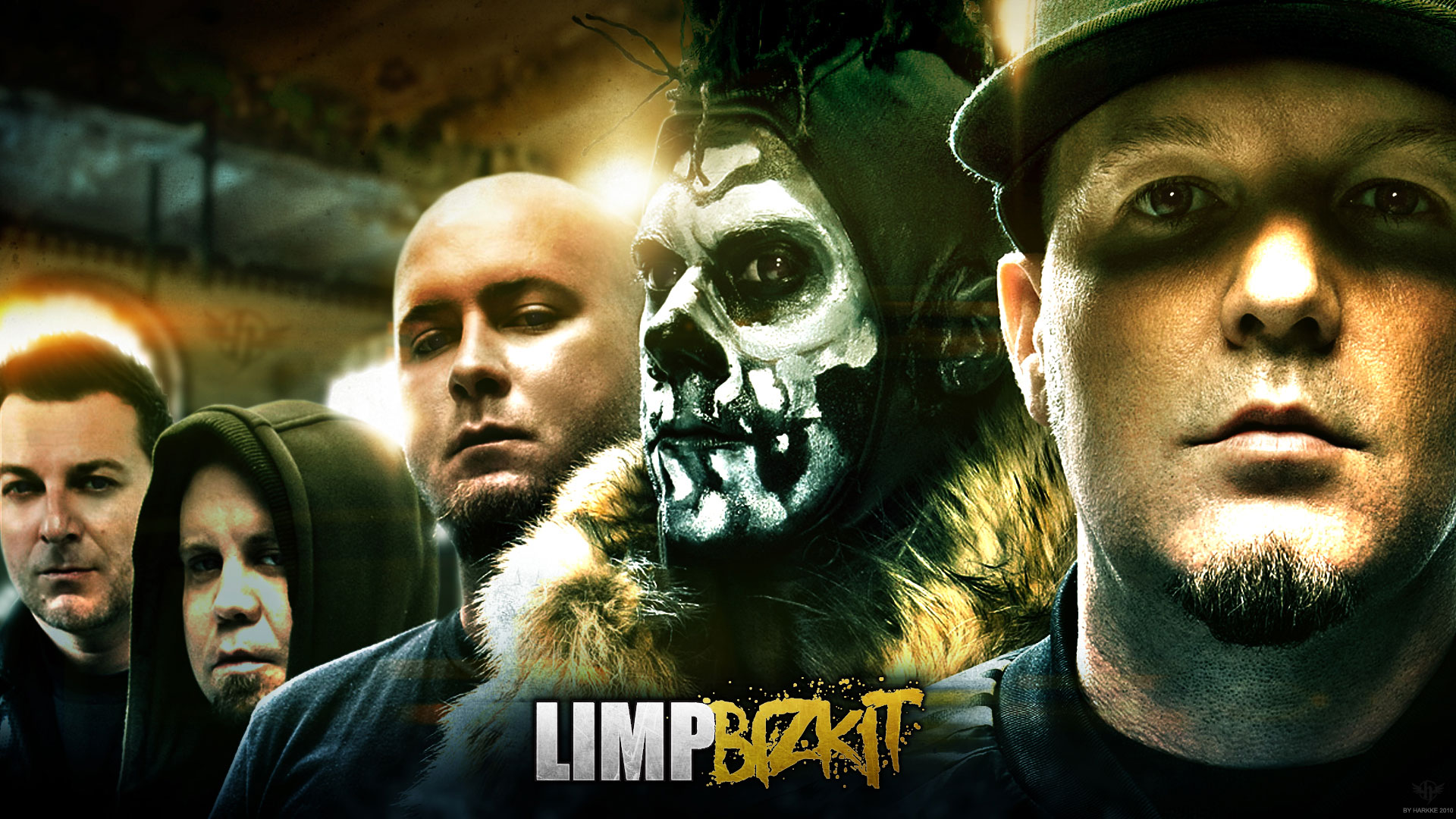High Resolution Wallpaper | Limp Bizkit 1920x1080 px