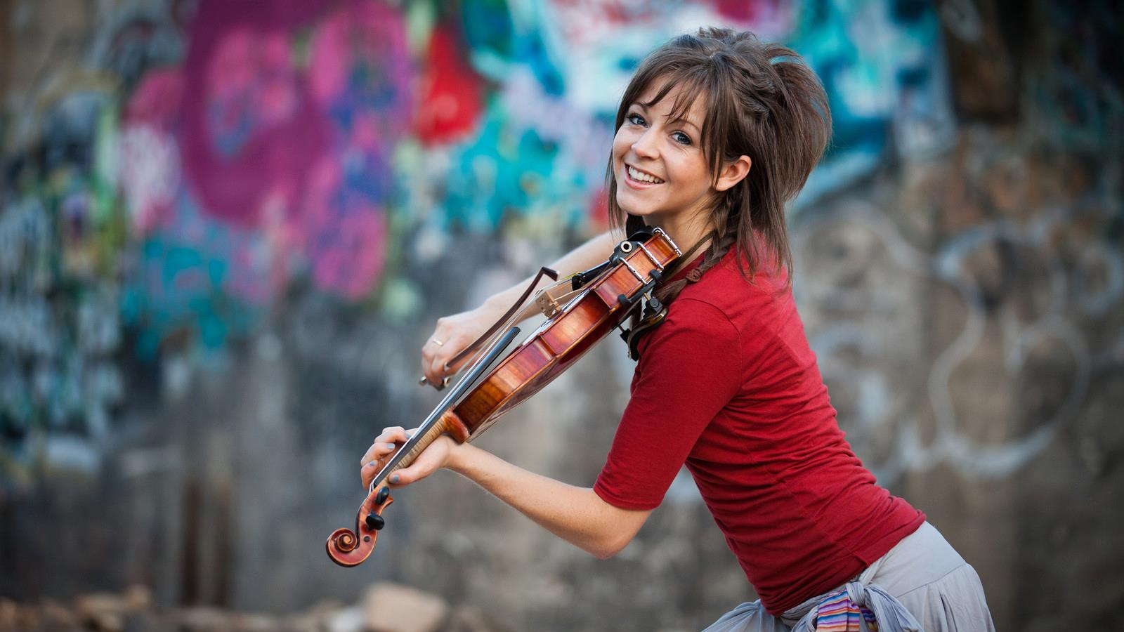 HD Quality Wallpaper | Collection: Music, 1600x900 Lindsey Stirling