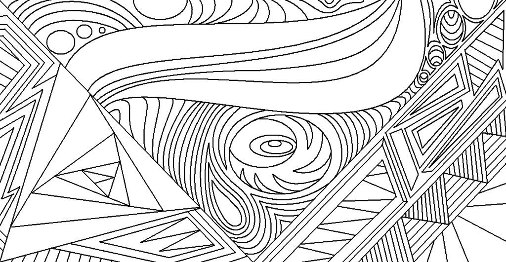 High Resolution Wallpaper   Line Art 1024x531 px