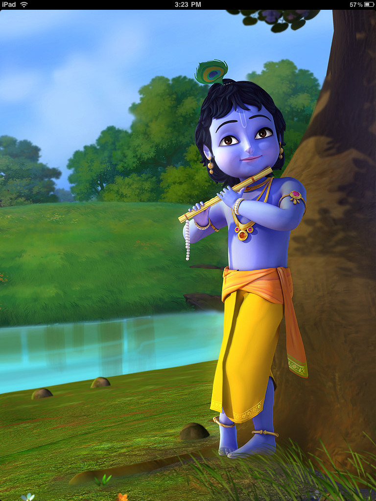 little krishna wallpaper 6