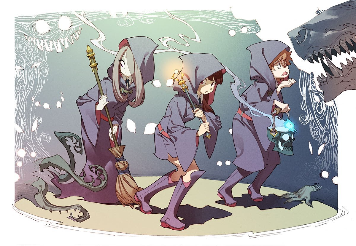 Little Witch Academia Wallpapers Anime Hq Little Witch Academia