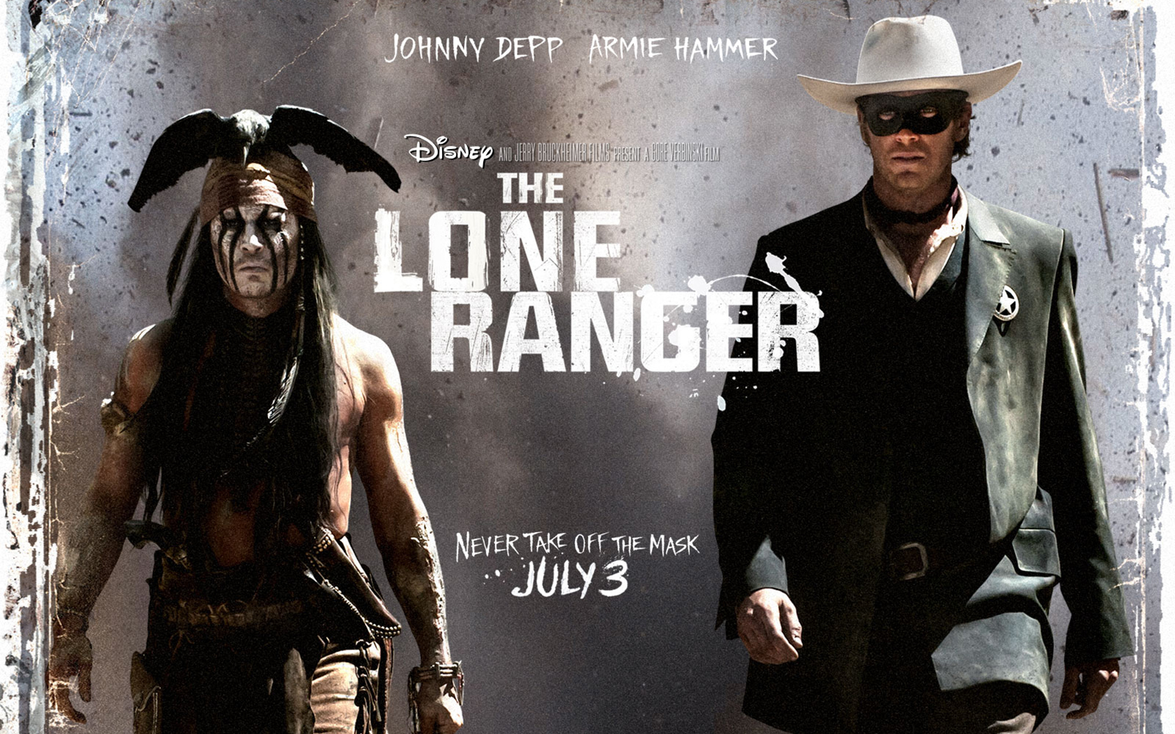 High Resolution Wallpaper | The Lone Ranger 1680x1050 px