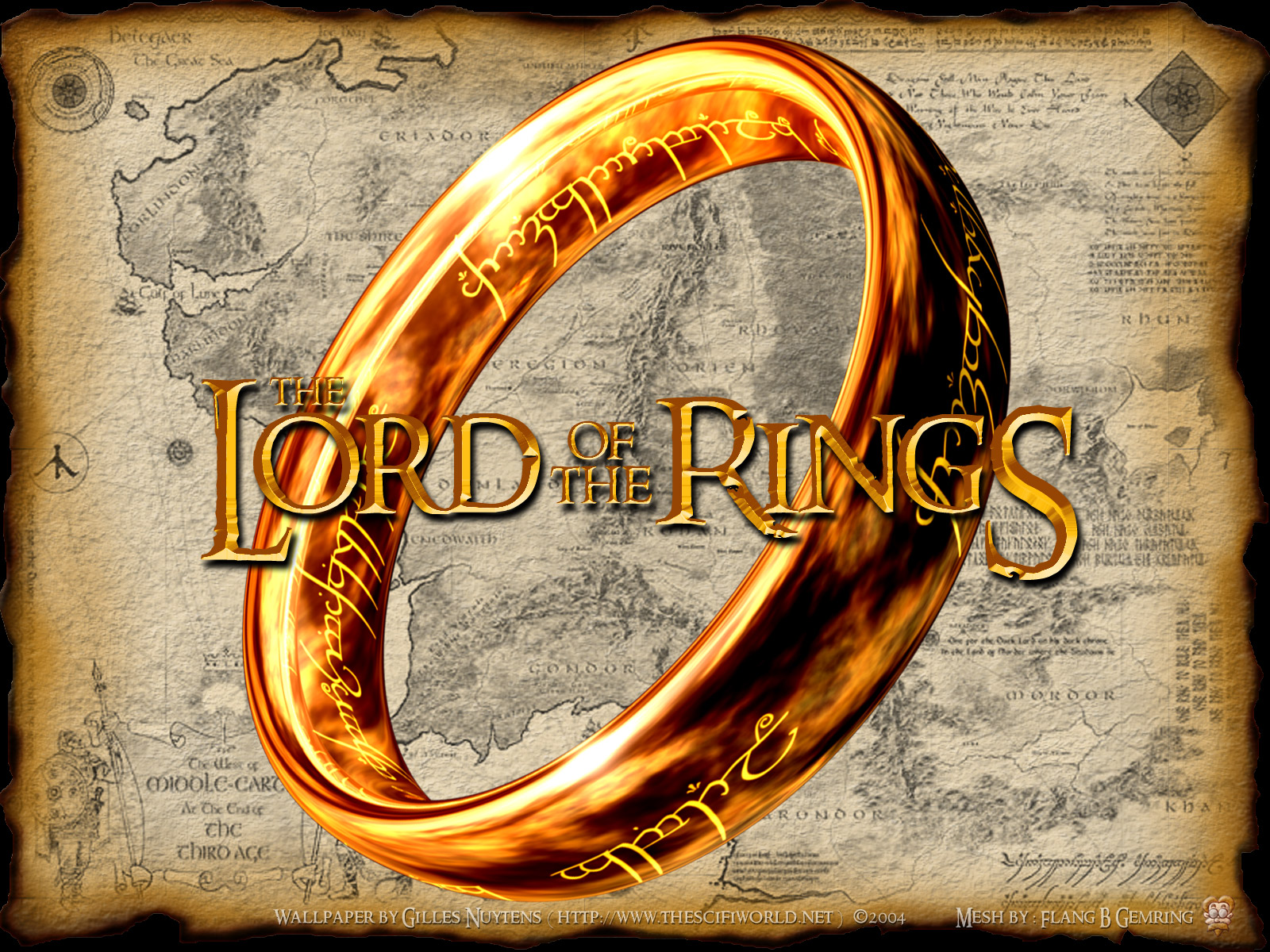 HD Quality Wallpaper | Collection: Fantasy, 1600x1200 Lord Of The Rings