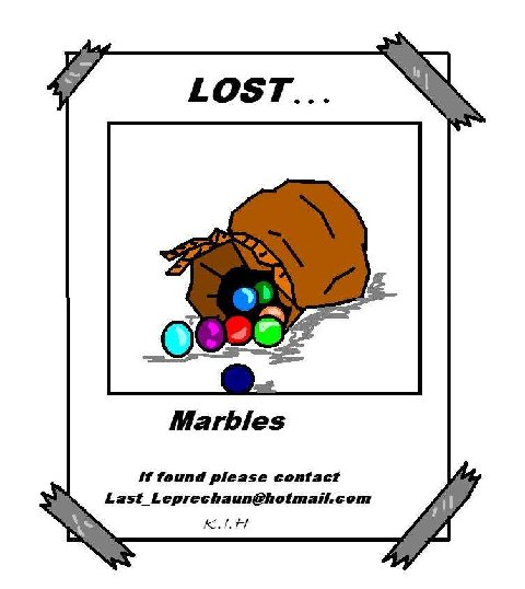Nice Images Collection: Lost Marbles Desktop Wallpapers