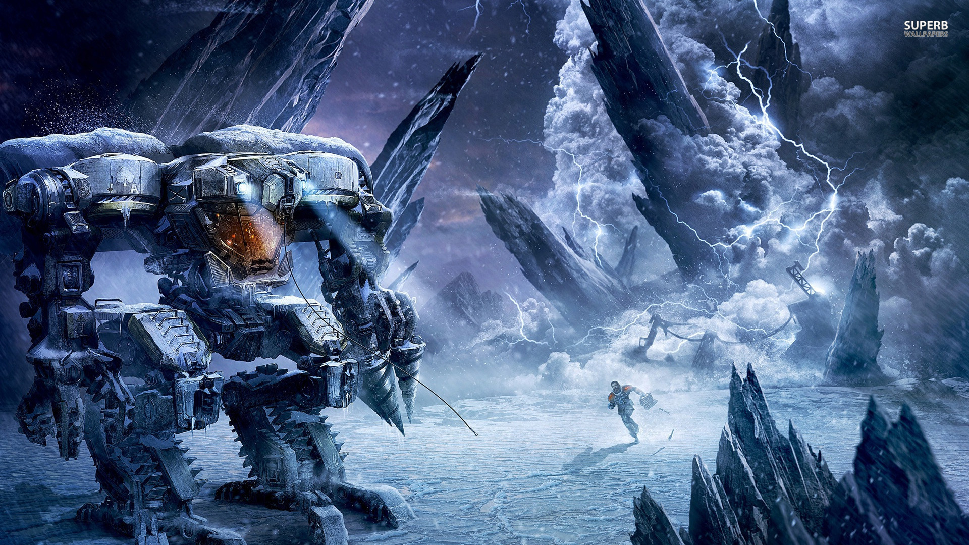HD Quality Wallpaper | Collection: Video Game, 1920x1080 Lost Planet 3