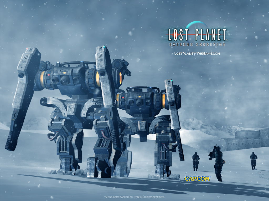 High Resolution Wallpaper | Lost Planet 1024x768 px