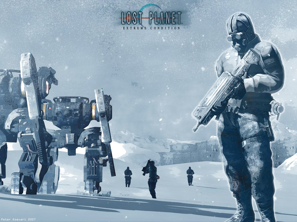 Lost Planet Pics, Video Game Collection