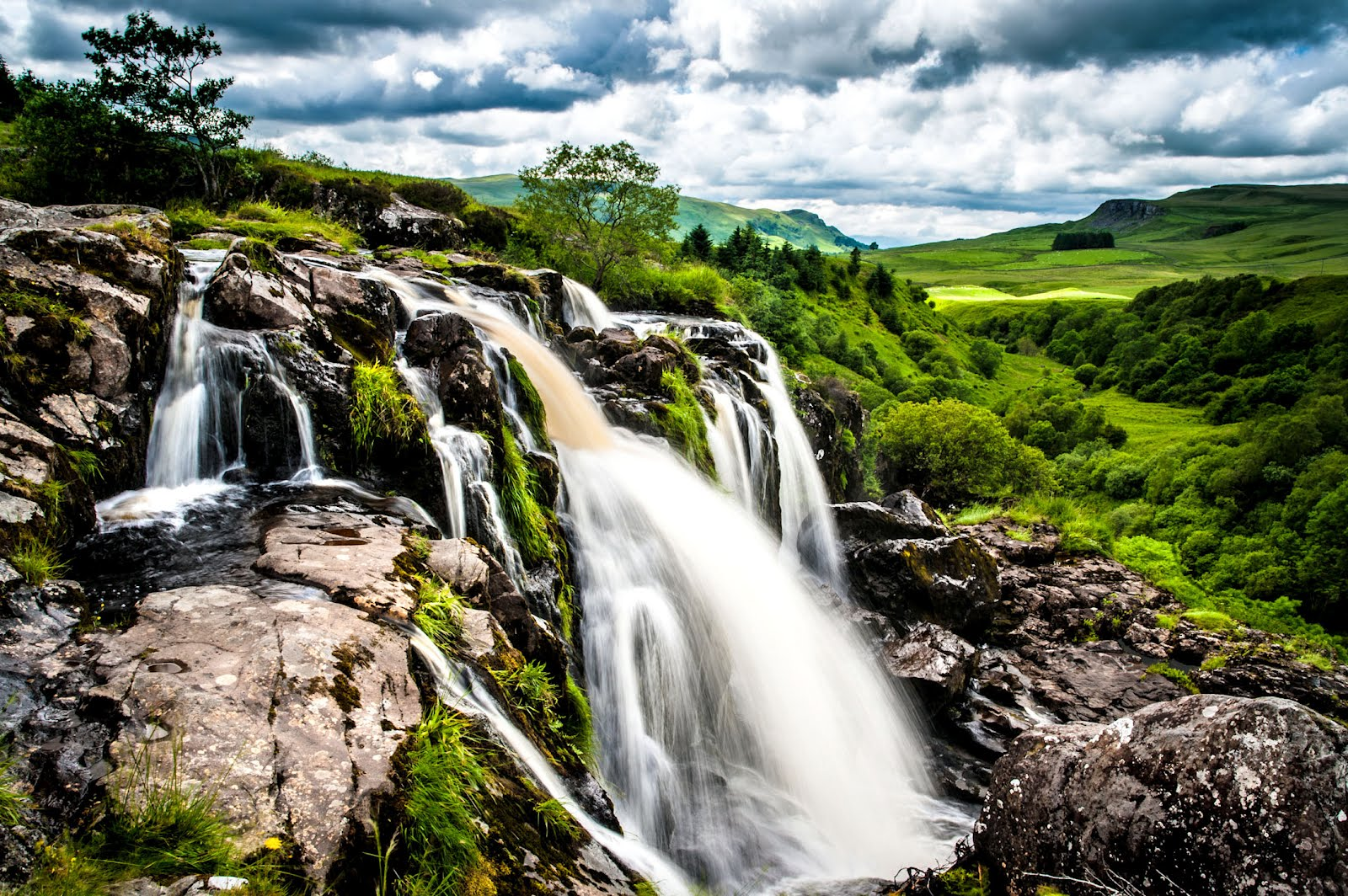 Nice wallpapers Loup Of Fintry Waterfall 1600x1064px