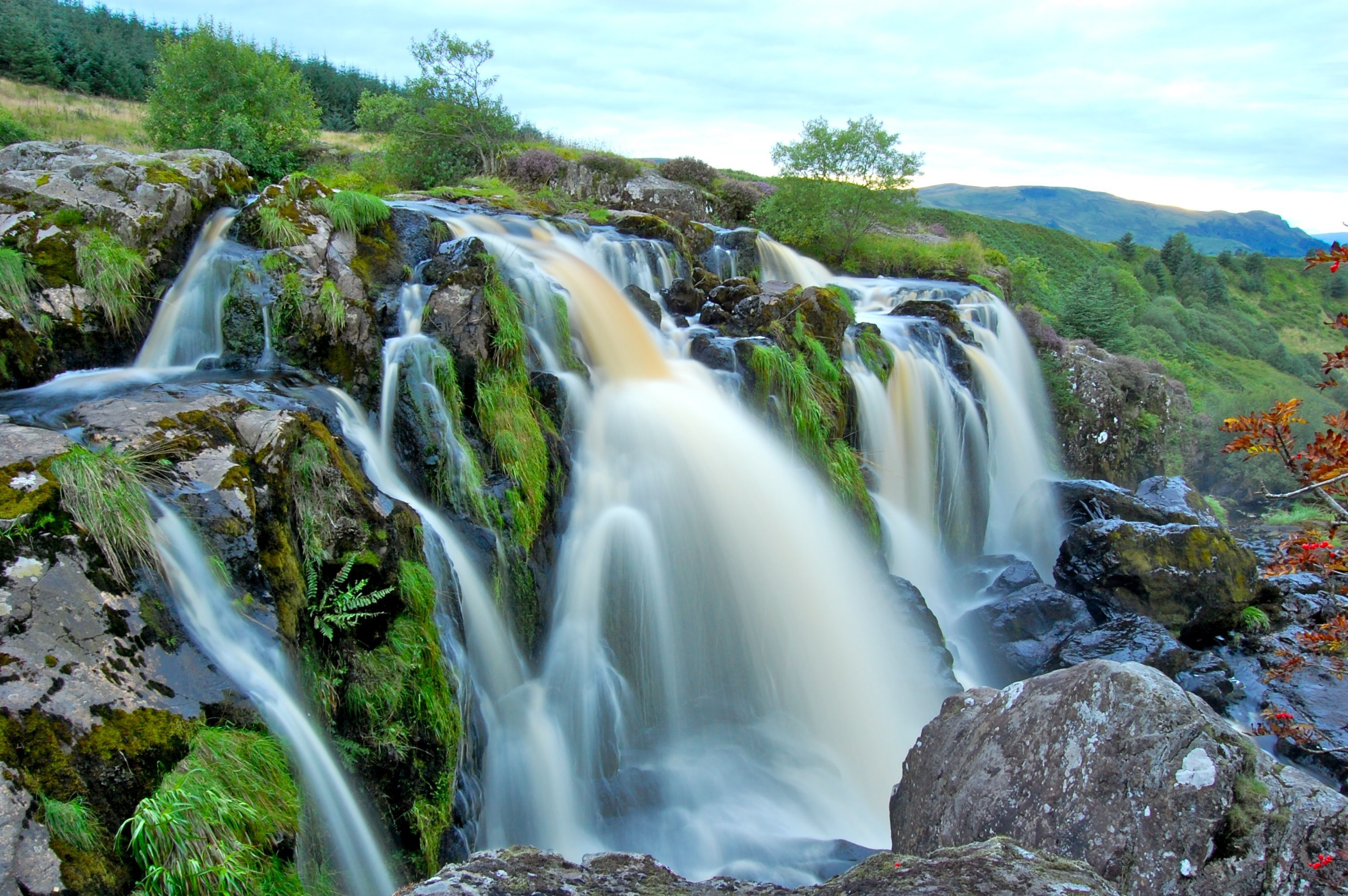 Nice wallpapers Loup Of Fintry Waterfall 3008x2000px