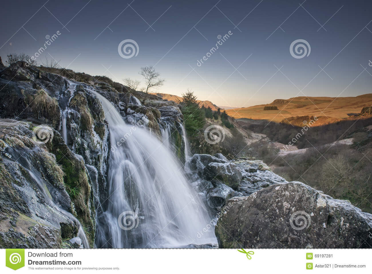 Loup Of Fintry Waterfall High Quality Background on Wallpapers Vista