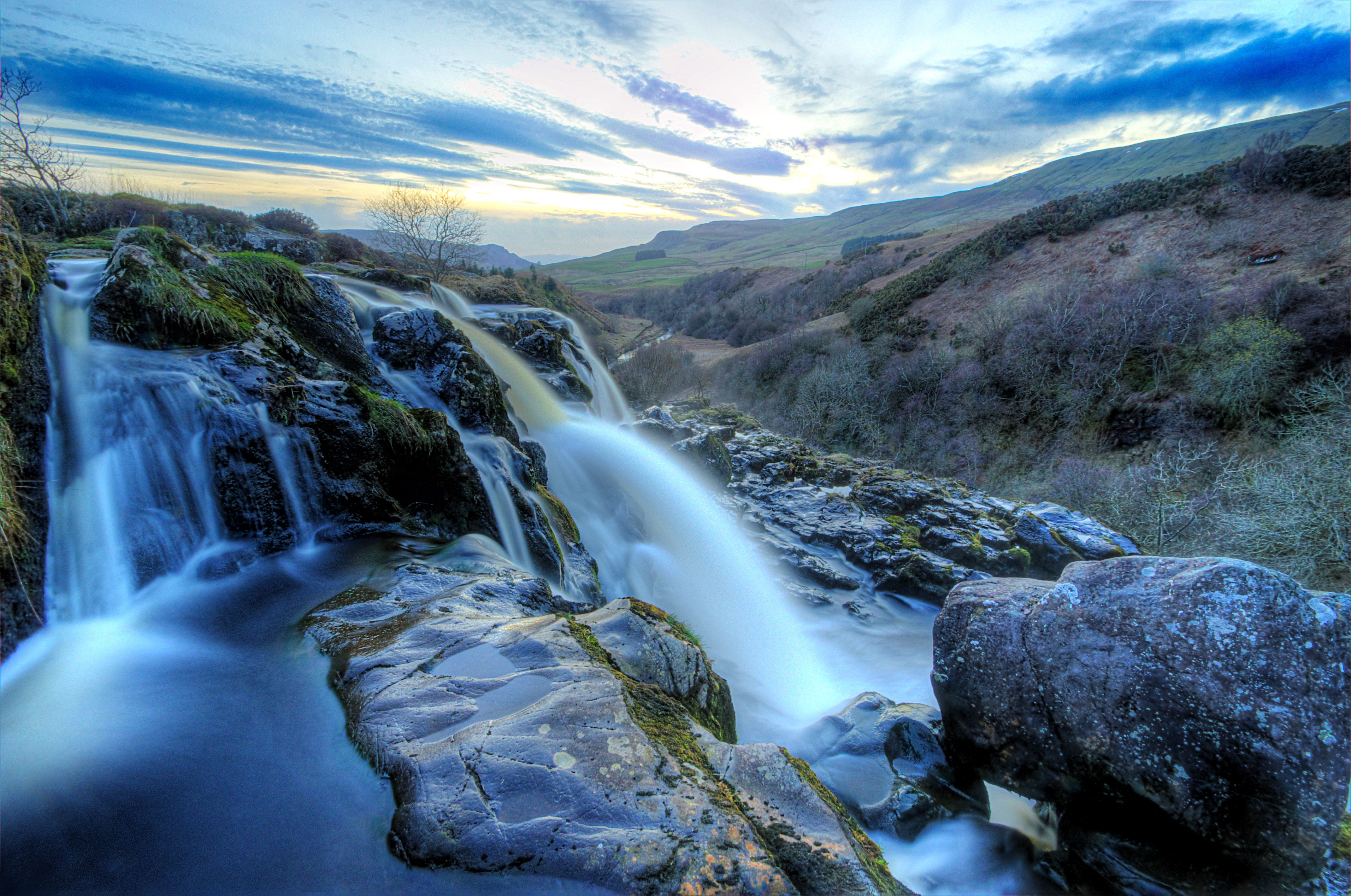 High Resolution Wallpaper   Loup Of Fintry Waterfall 4282x2841 px