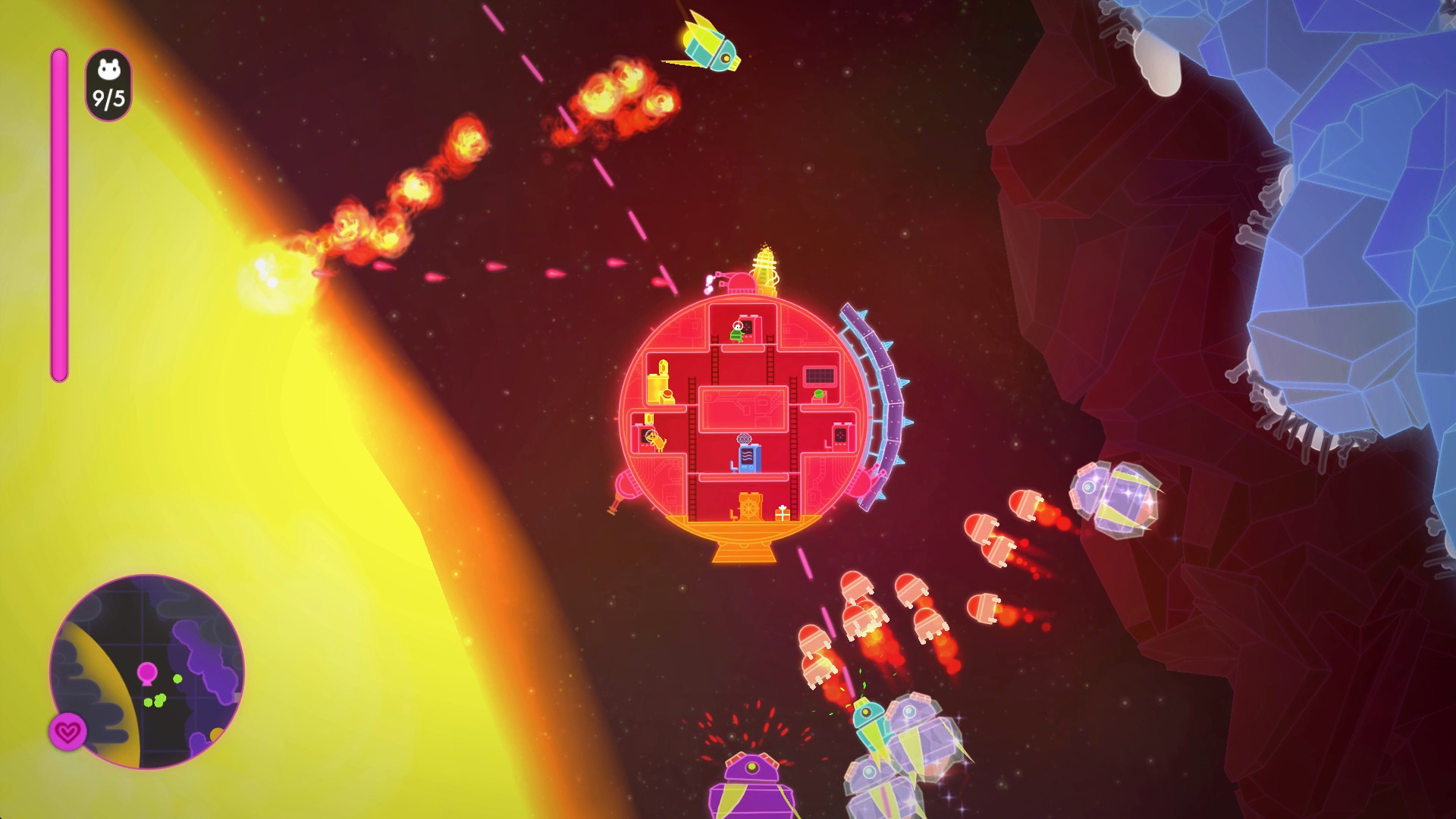 HQ Lovers In A Dangerous Spacetime Wallpapers | File 311.09Kb