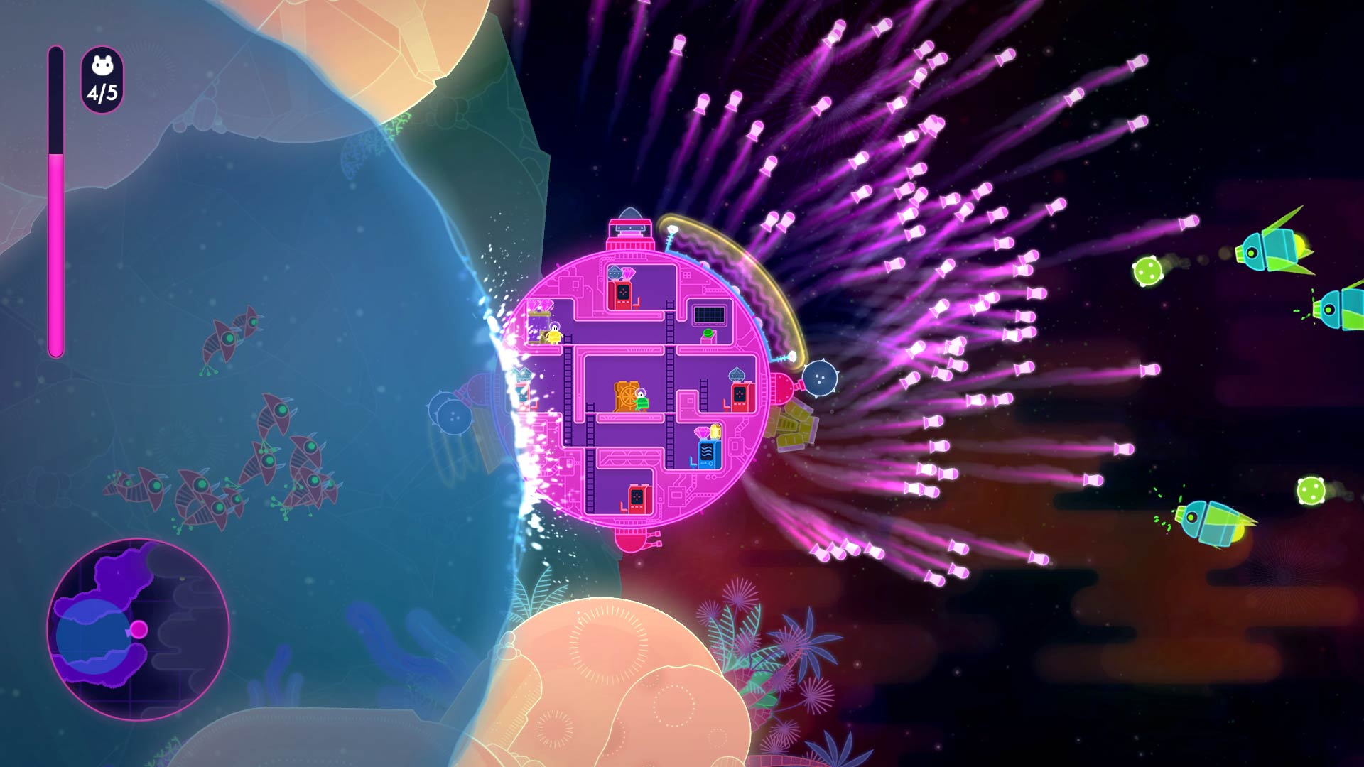 Lovers In A Dangerous Spacetime Backgrounds on Wallpapers Vista