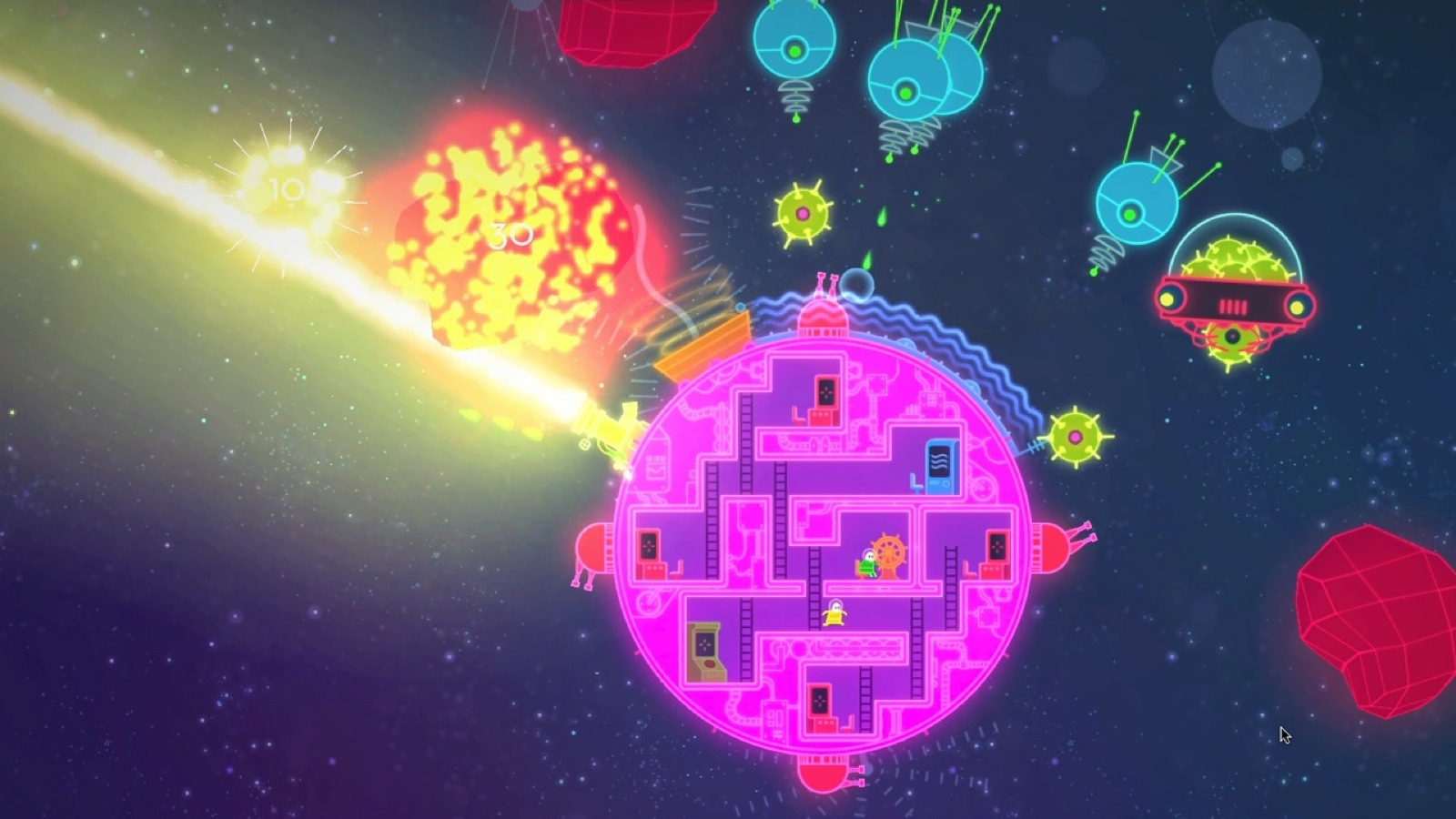 HD Quality Wallpaper | Collection: Video Game, 1600x900 Lovers In A Dangerous Spacetime