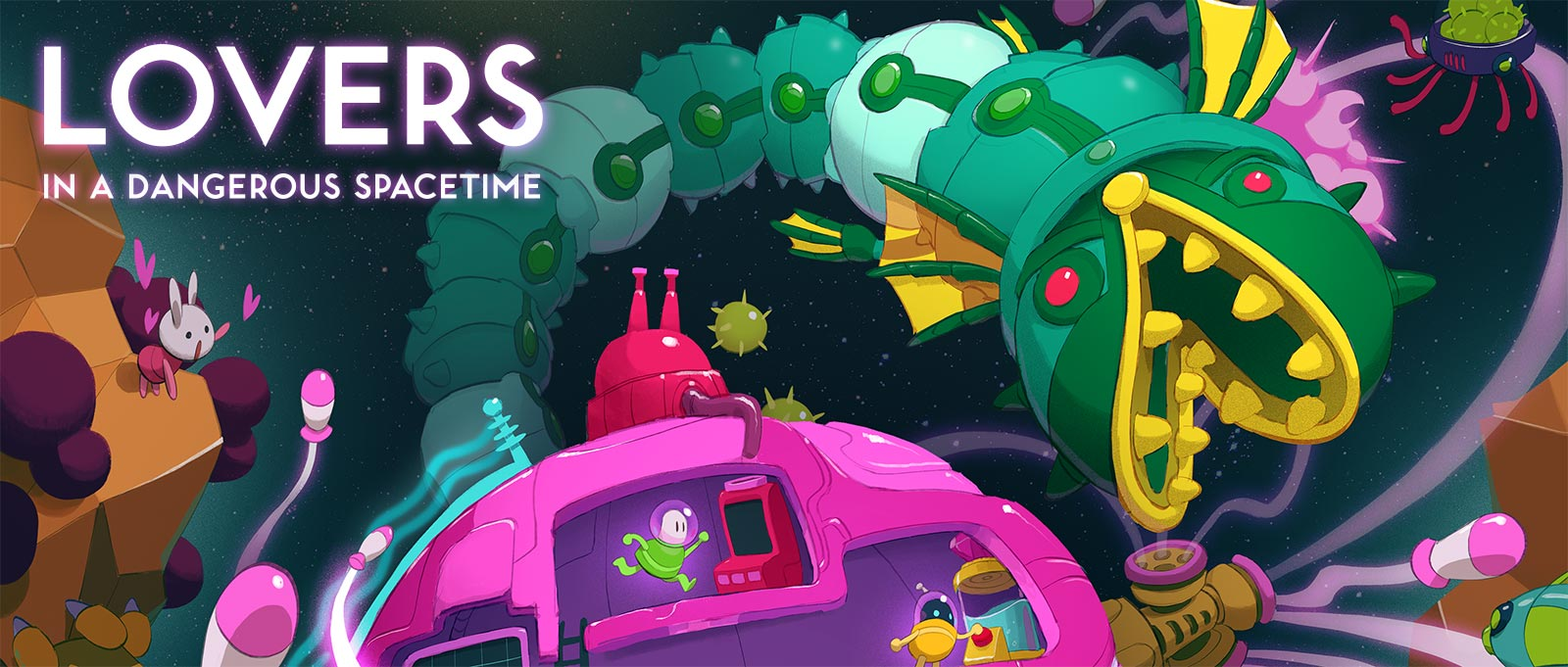 Images of Lovers In A Dangerous Spacetime | 1600x681