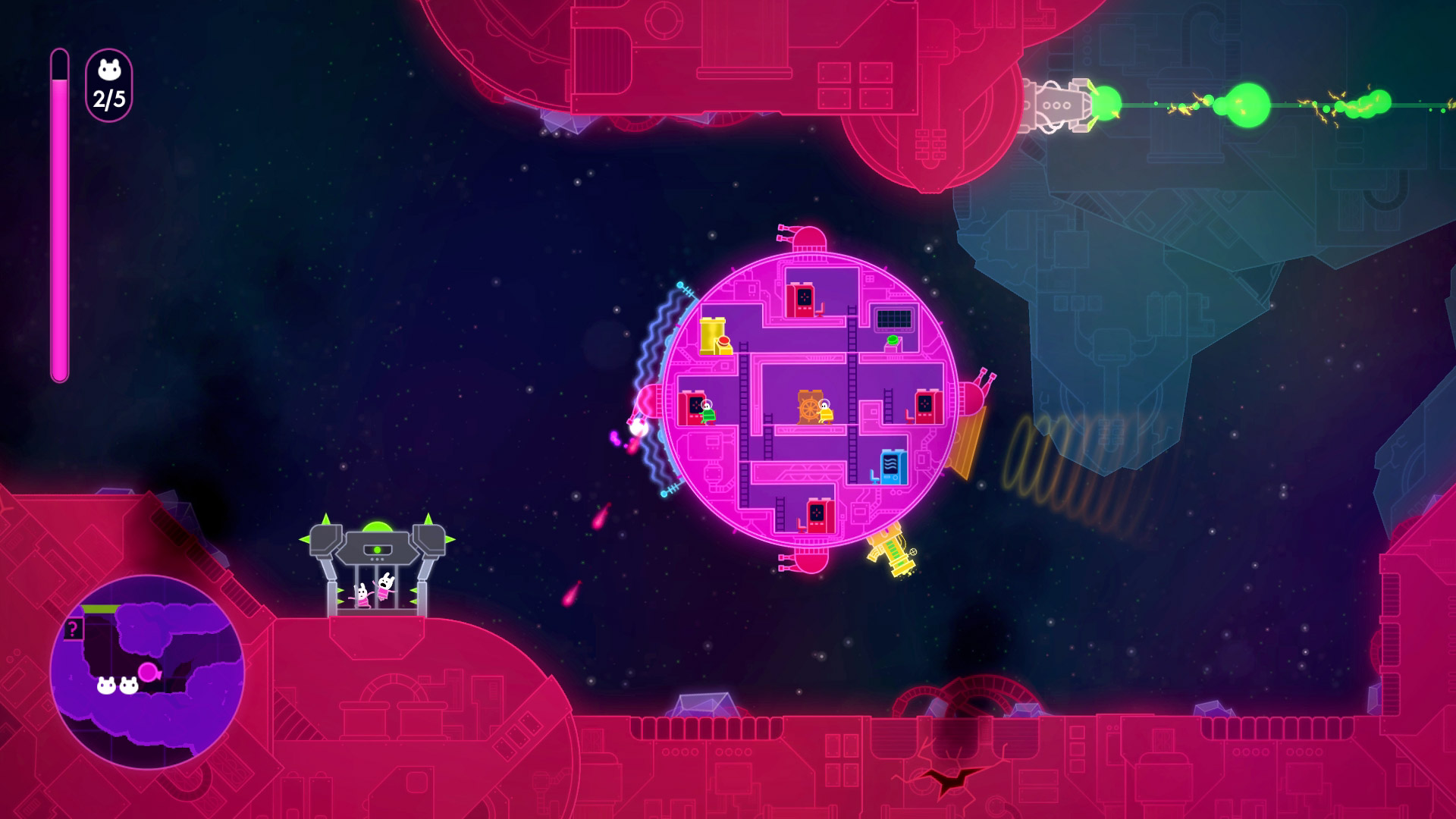 Lovers In A Dangerous Spacetime Wallpapers Video Game Hq Lovers
