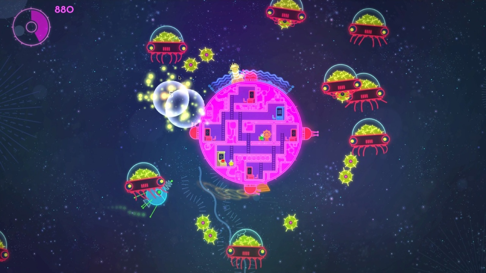 Nice Images Collection: Lovers In A Dangerous Spacetime Desktop Wallpapers