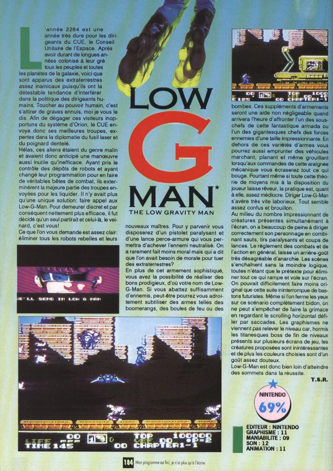 Low G Man #24